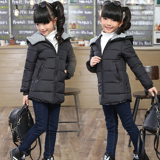 55e02da5b9b6 Online Shop long jacket Girl Spring Jackets for girls winter coat ...