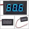 Confiável Moda DC4.5-30V 2 Fios LED Azul Painel Display LED Voltage Meter Voltímetro Ap6 dropshipping
