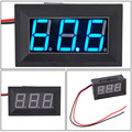Dependable Fashion DC4.5-30V 2 Wire Blue LED Panel LED Display Voltage Meter Voltmeter Ap6 dropshipping