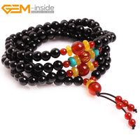 Gem Inside Zen Mala Buddhist Prayer Tibetan Rosary Beads Bodhi Beads Christian Prayer Beads For Women