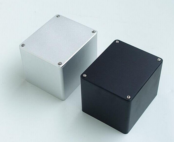 WEILIANG AUDIO Square Aluminum Transformer Cover For Output Transformer 130*110*99mm