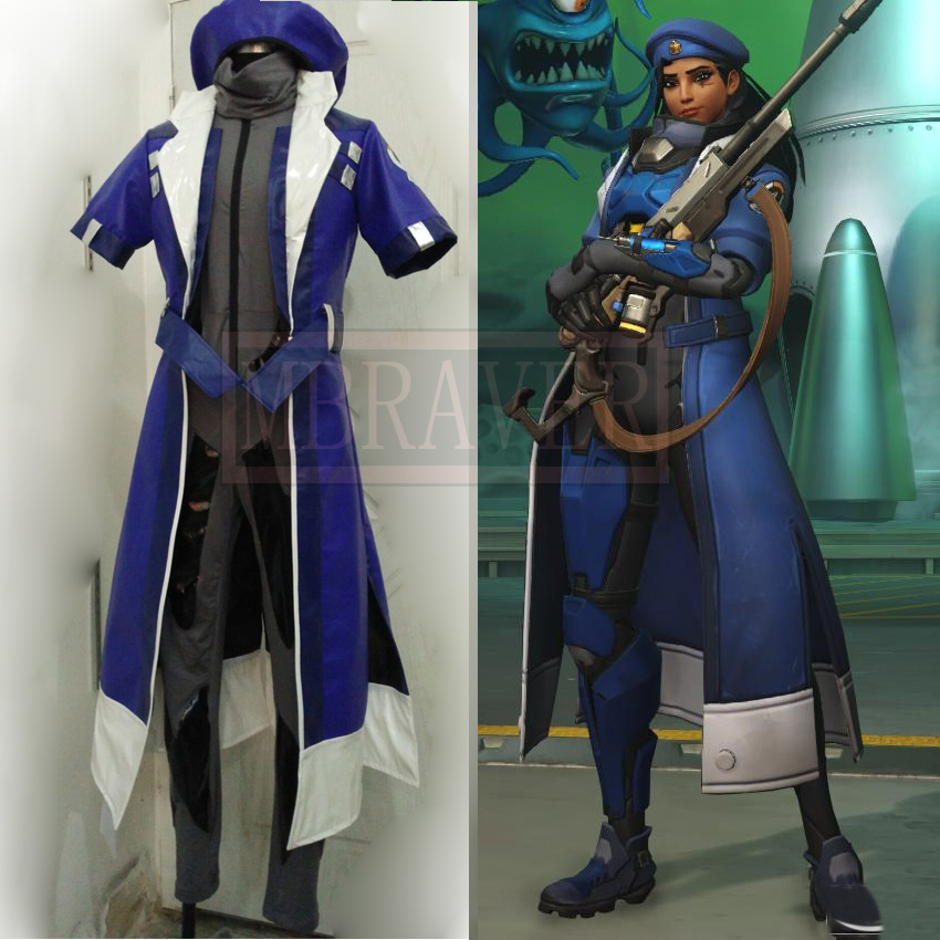 Game OW Ana Amari Cosplay Cosplay Costume