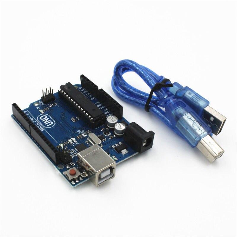 UNO R3 MEGA328P ATMEGA16U2 Conseil de Développement pour Arduino + Câble USB Nouveau