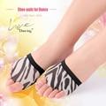 Cheap Dancewear Women Ballet Flats Belly Dance Training Shoes Zebra Stripe