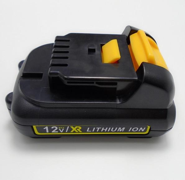 12V 4500mah Li-ion Battery Replacement for Power tool for Dewalt DCB120, DCB123, DCB125
