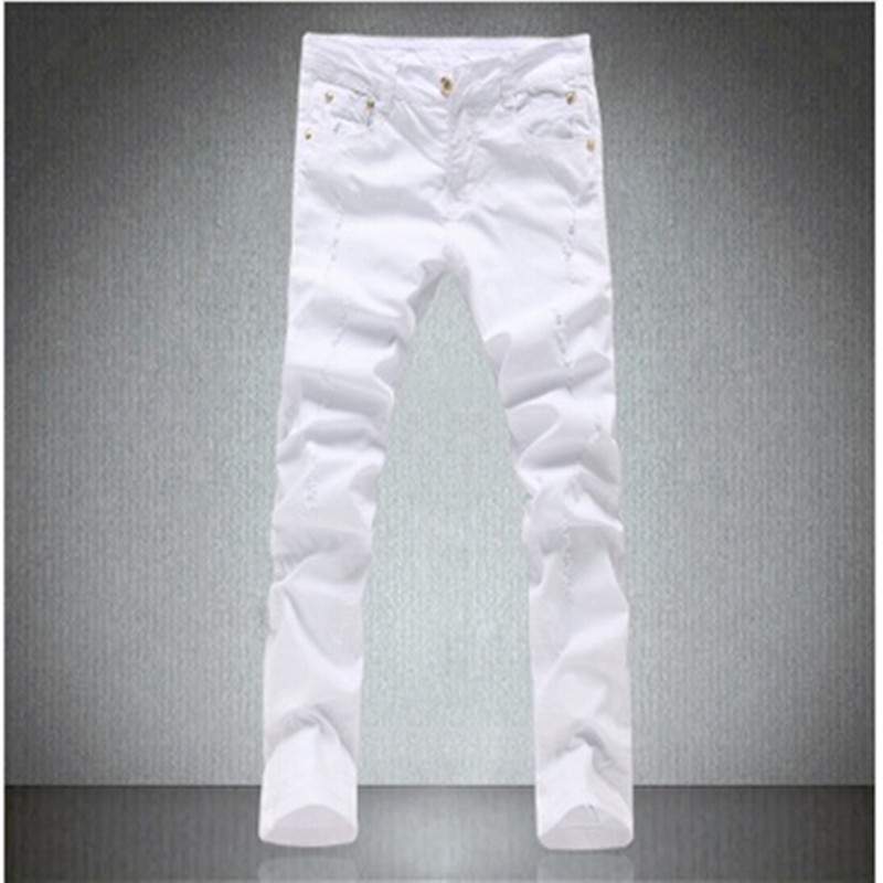White Skinny Jeans for Men Promotion-Shop for Promotional White