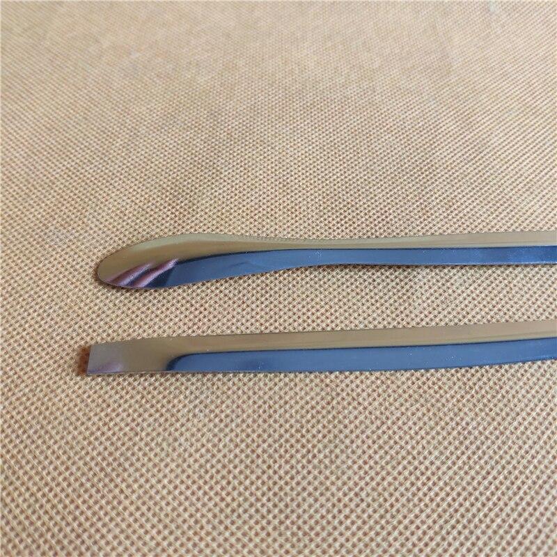 180 мм из нержавеющей стали, микро-медицинская ложка, 18 см лабораторная Микрометрическая ложка, тонкая из нержавеющей стали, микро-спрей