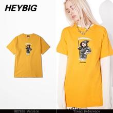 a85139b15 Ancient Greek Death God styling Bear cartoon Tee 2017 HEYBIG hip hop t-shirt  men women pure cotton breathable summer tops