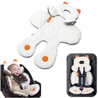 1pcs Baby Stroller Mat Cotton Child Infant Cushion For Strollers Kids Toddlers Head Body Support Car