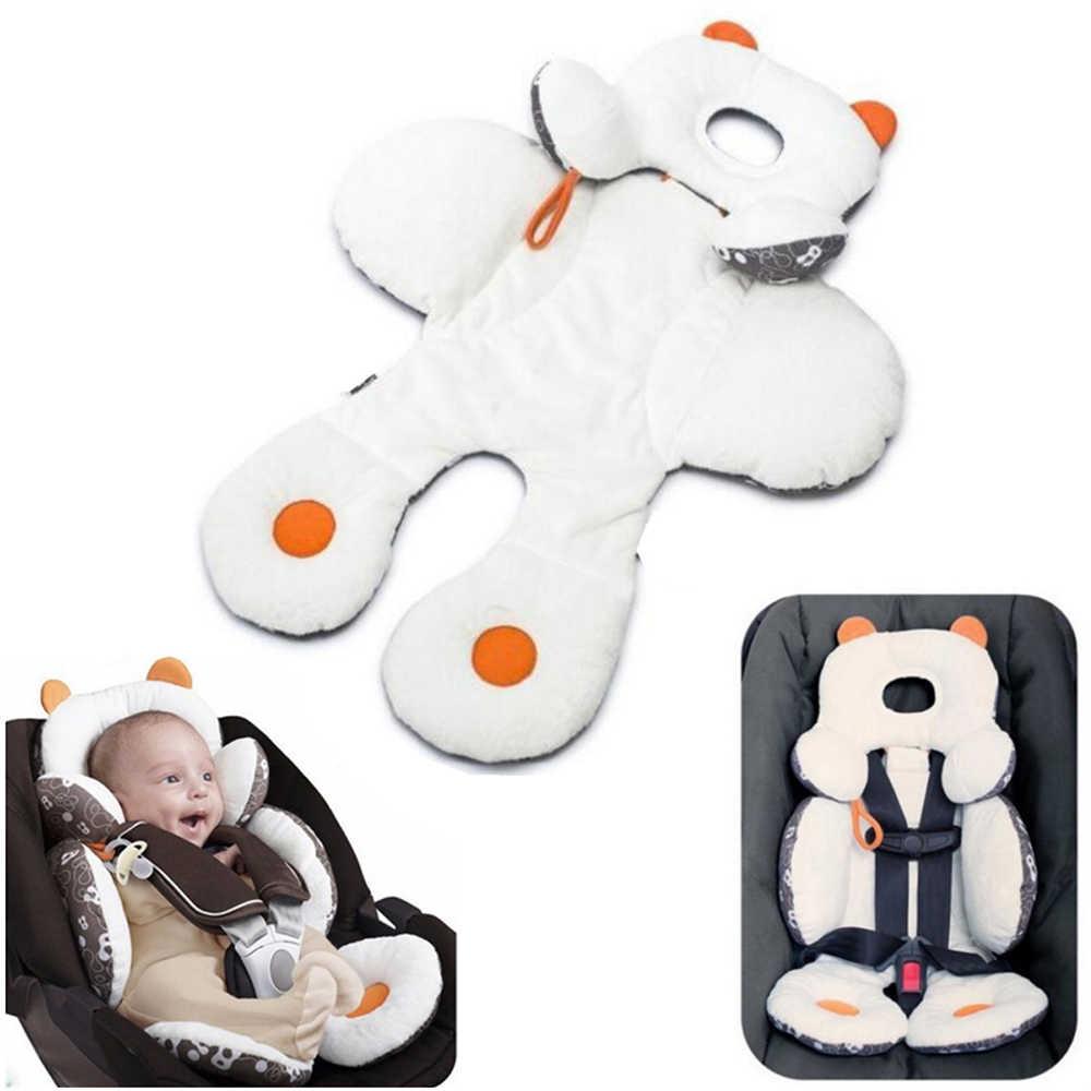 1 قطعة طفل عربة طفل حصيرة القطن الطفل الرضع وسادة ل عربات أطفال الصغار رئيس الجسم دعم مقعد السيارة