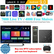 Ttvbox Baru IPTV HK1 Mini Smart TV Box Android 9.0 OS 2GB 16GB RK3229 Quad Core WIFI 2.4G 4K 3D Android Media Player(China)
