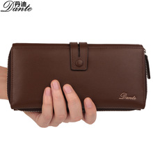 DANTE    2017 new fashion cow leather business man purse, wallet style design, a variety of color choices, make your personality