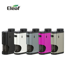 Original 50W Eleaf Pico Squeeze Box MOD w/ Refillable Squonk Bottle of 6.5ml Large Capacity for Coral RDA Atomizer No Battery(China)