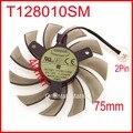 Everflow t128010sm 75mm 12 v 0.2a para gigabyte n470so n580ud n580so gtx460 gtx470 gtx580 hd5870 placa gráfica ventilador de refrigeração