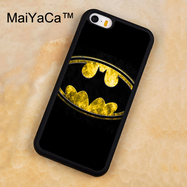 info for 5f10c 4435f US $4.22 5% OFF|MaiYaCa DC Comics Batman Emblem Case For iPhone 5 5s  Protective Soft Rubber Back Cover For iPhone SE Mobile Phone Bag Case-in  Fitted ...