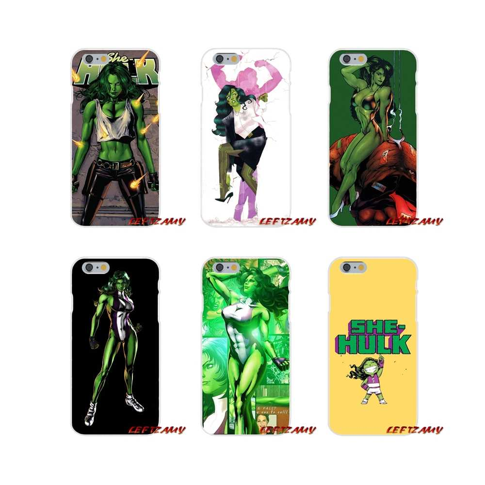 Marvel She Hulk Movie Film For Samsung Galaxy S3 S4 S5 MINI S6 S7 ...