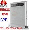 Разблокирована HUAWEI B593S-850 B593 4G LTE wi-fi маршрутизатор TDD 4 г wi-fi cpe автомобиль точка 3 г 4 г беспроводной адаптер cpe pk b683 e5172 e5186