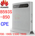 Unlocked HUAWEI B593S-850 b593 4G LTE wifi router TDD 4g wifi cpe car hotspot 3g 4g wireless dongle cpe pk b683 e5172 e5186