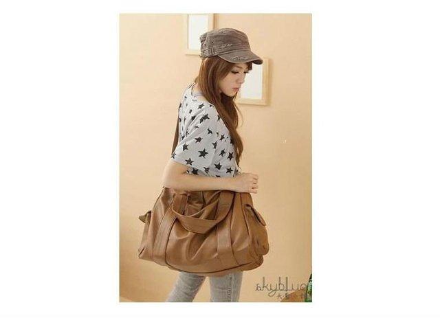 Hot sale 1 piece ladies' fashion shoulder bag,PU leather handbag for women,wholesale and retail promotion,3 colors selectable