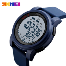 SKMEI Sport Watch Men Digital Calorie Pedometer Waterproof Week Display Silicone  Watches Relogio Masculino 1469