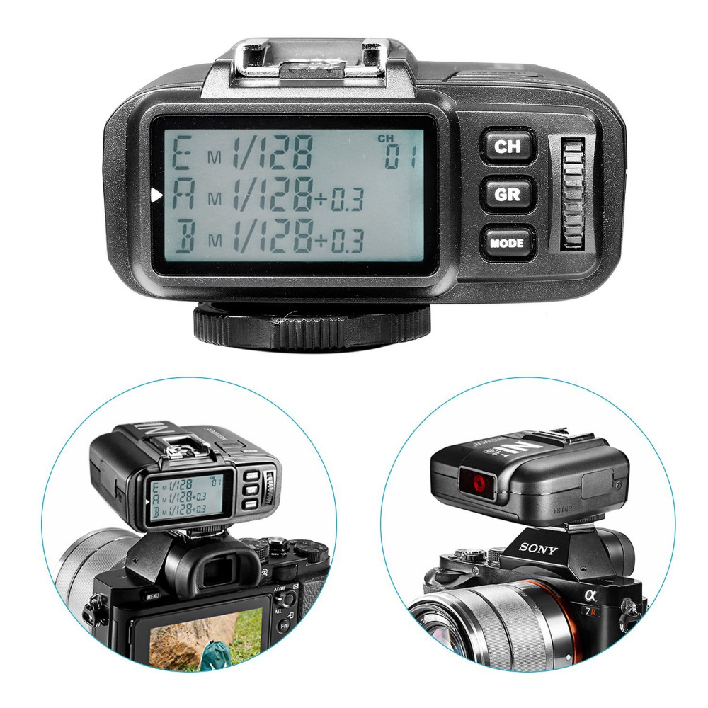 Prix pour Neewer N1T-S TTL 2.4G 32 Canaux Sans Fil Déclencheur Flash Émetteur Pour Sony/Neewer NW880S NW865S NW400S NW850II/Godox TT685S