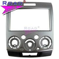 TOPNAVI Car Radio fascia for Ford Everest/ Ford Ranger/ Mazda BT 50 2006 2010 Two DIN Dash Mount Kit Adapter Trim Fascia Panel