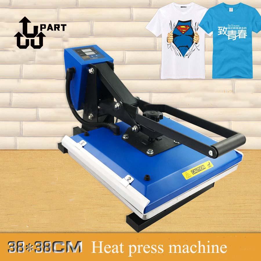 High quality manual hand heat press machine 38*38 for Mouse pad 1 pcs 38 38cm small heat press machine hp230a