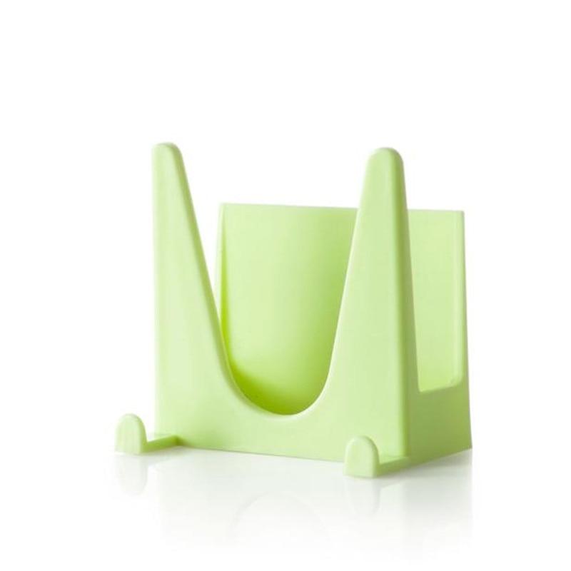 2016 hot sale Plastic Kitchen Pot Pan Cover Shell Cover Sucker Tool Bracket Storage Rack wholesale