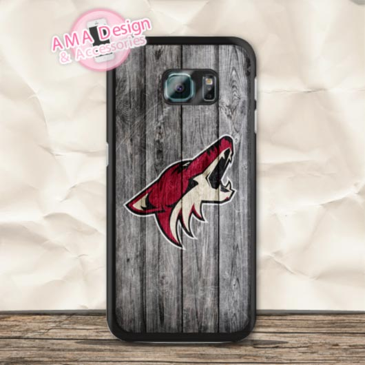 Ice Hockey Arizona Coyotes Case For Galaxy S8 S7 S6 Edge Plus S5 mini S4 active Core Prime Ace Note 5 4