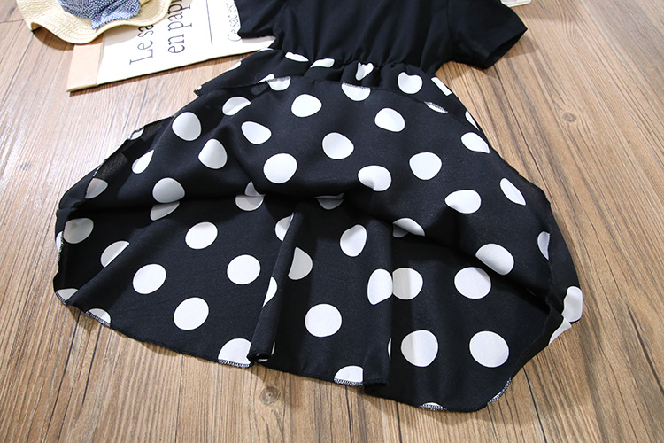 Girls Layered Dresses for Party and Wedding Kids Princess Dot Dress for Toddler Girl Clothes Summer Dot Layered Dress In Kids 12