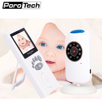 GB101 Wireless Video Color Baby Monitor Baby Nanny Security Camera Night Vision babyroom Monitoring support english Russian