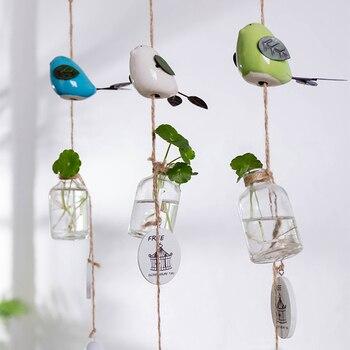 Japanese adorable bird girls bedroom room ornaments Campanula children small fresh door trim bell Pendant