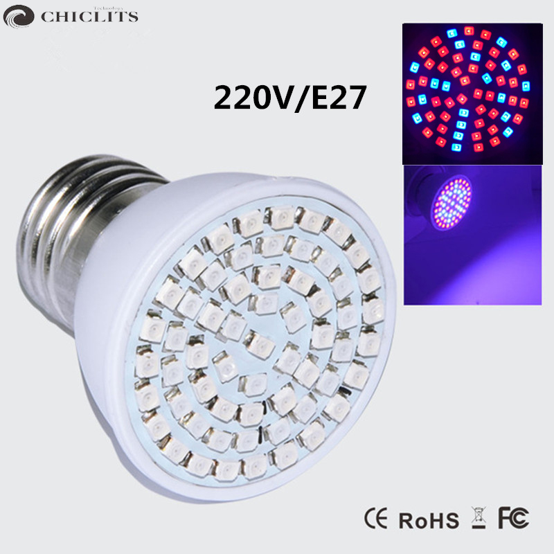 Led Grow Light Ampolletas Led E27 3W 220V Grow Lamps for Flowering Plant and Hydroponics Outdoor Spot Lighting 60Leds Bulb Lamp 90w ufo led grow light 90 pcs leds for hydroponics lighting dropshipping 90w led grow light 90w plants lamp free shipping