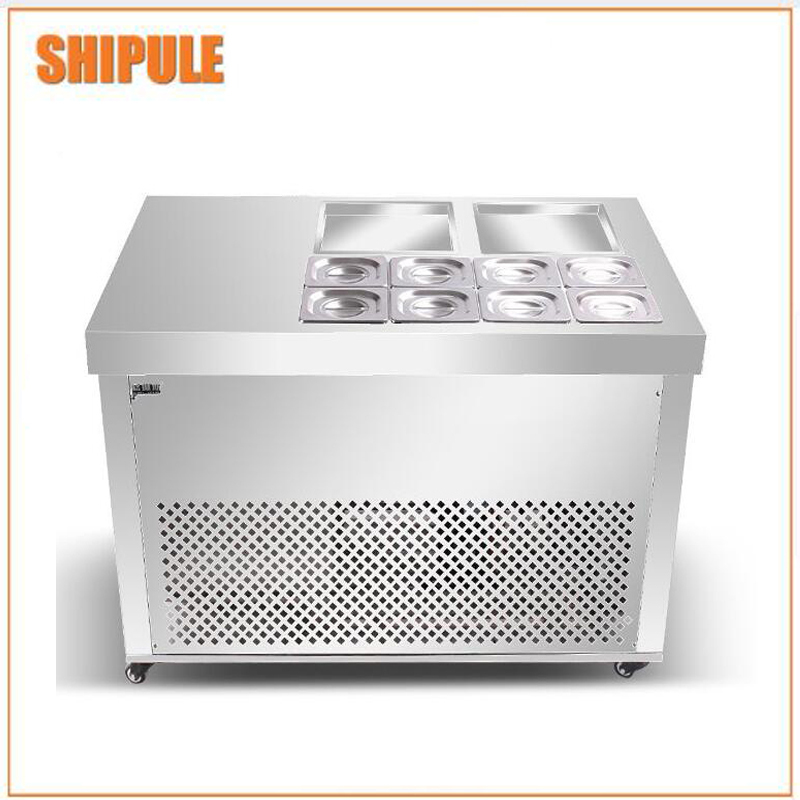 Flat fried yogurt machine/instant ice cream rolls machine / Flat Pan Fried Ice Cream Machine iodase staminal instant ice 150
