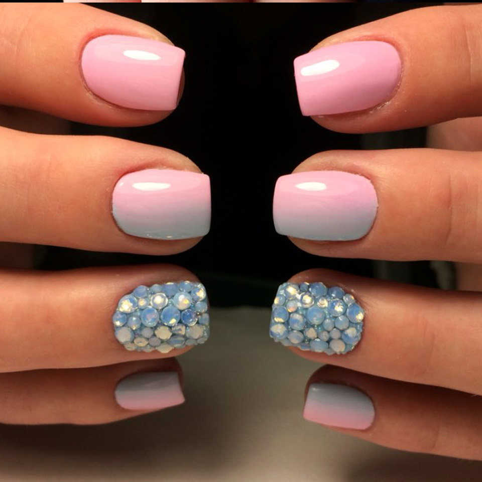 Nail Art Ideas nail art gems designs : Opal Rhinestones Nails Gems 3D Nail Art Decorations Strass Ongles ...
