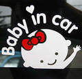 2016 Baby In Car Stickers Funny Girl And Boy Styling Auto Sticker Decal Accessories for Opel Insignia Alfa Romeo for Audi A3