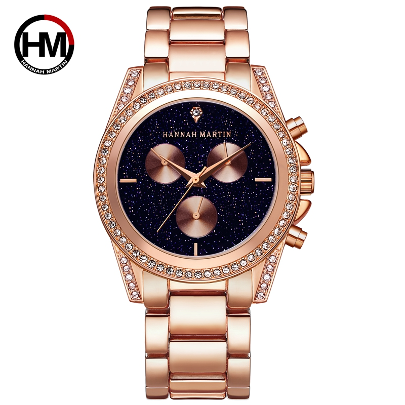 Hannah Martin Fashion Watch Women Flower Dress Watch Female Hour Leather Lady Dress Analog Quartz Vogue Clock Relogio Feminino swiss fashion brand agelocer dress gold quartz watch women clock female lady leather strap wristwatch relogio feminino luxury