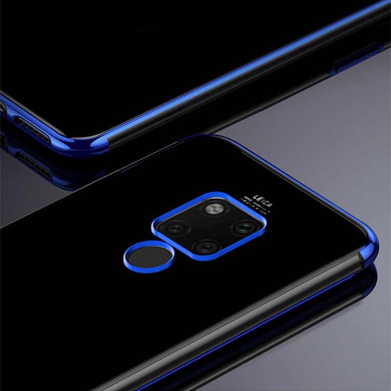 Silicone Case For Huawei Huawei Mate 20 X RS Y9 2019 10 P8 P9 Lite 2017 P20 Pro P10 Lite  Honor 8 Lite Nova 2 Plus 2s Cover Soft