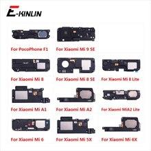 Yeni arka Buzzer zil modülü hoparlör Loud hoparlör Flex kablo için XiaoMi PocoPhone F1 Mi A2 A1 9 8 SE lite 6 6X 5X