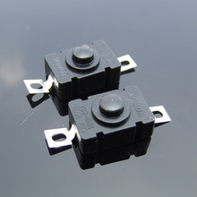 Self Locking Rectangular Push Button Switch Good Operation Feel Toy Model Element Round Button Can Be a Flashlight Switches