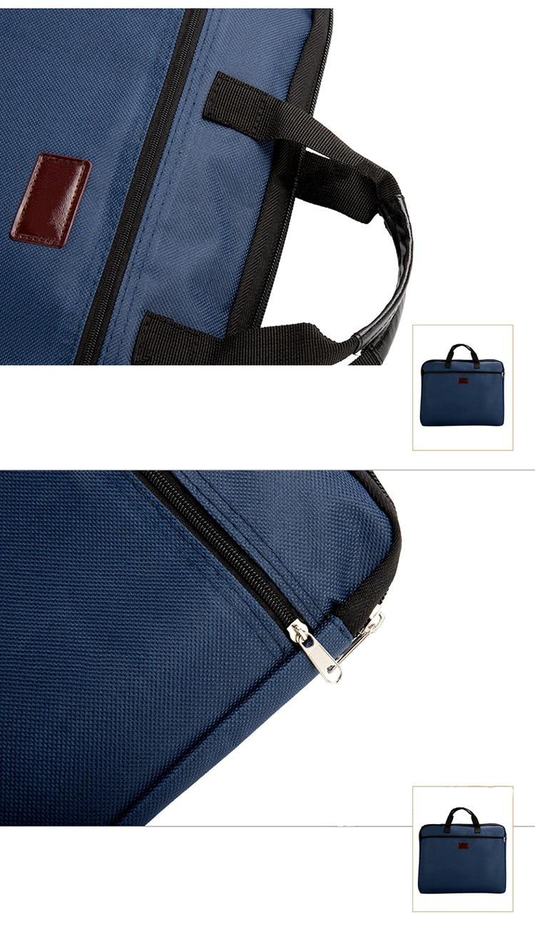HTB1sYhUXL1H3KVjSZFHq6zKppXaZ Portable document bag canvas A4 office zipper bag large capacity men women handbag multi-layer information bag briefcase meeting