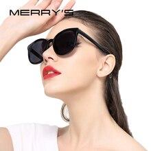 MERRYS Women Classic Brand Designer Cat Eye Sunglas