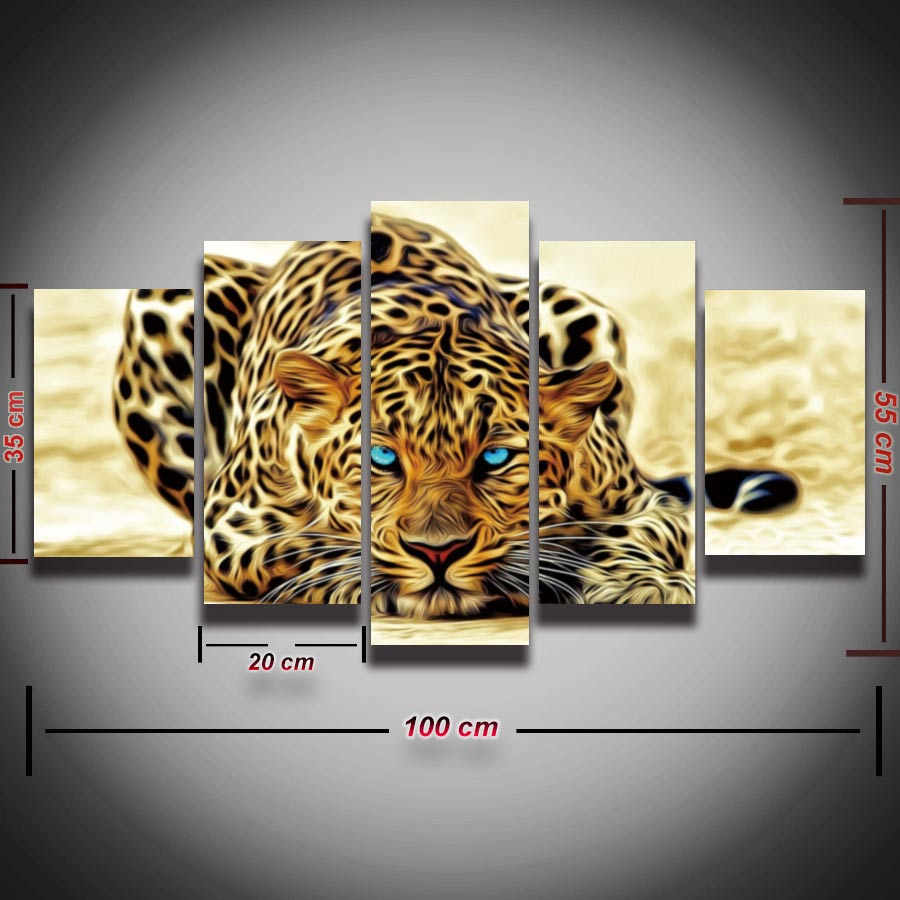 2016 Fallout Cuadros Decoracion Modular Picture Tiger Leopard Animal Painting On Canvas Wall Art Home Decor