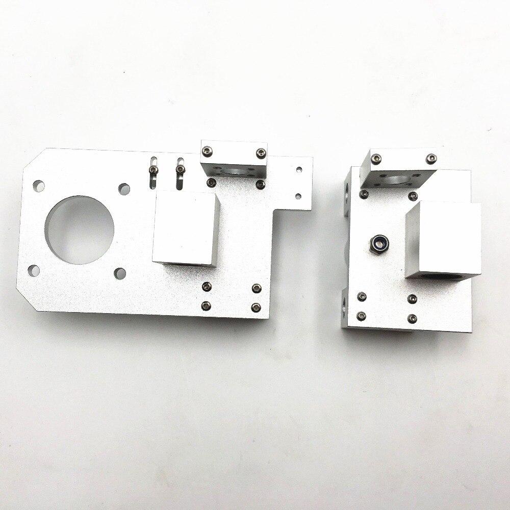 Funssor Reprap Prusa i3 all metal X end idler +X end motor for DIY Prusa 3D printer Silver Color цены онлайн
