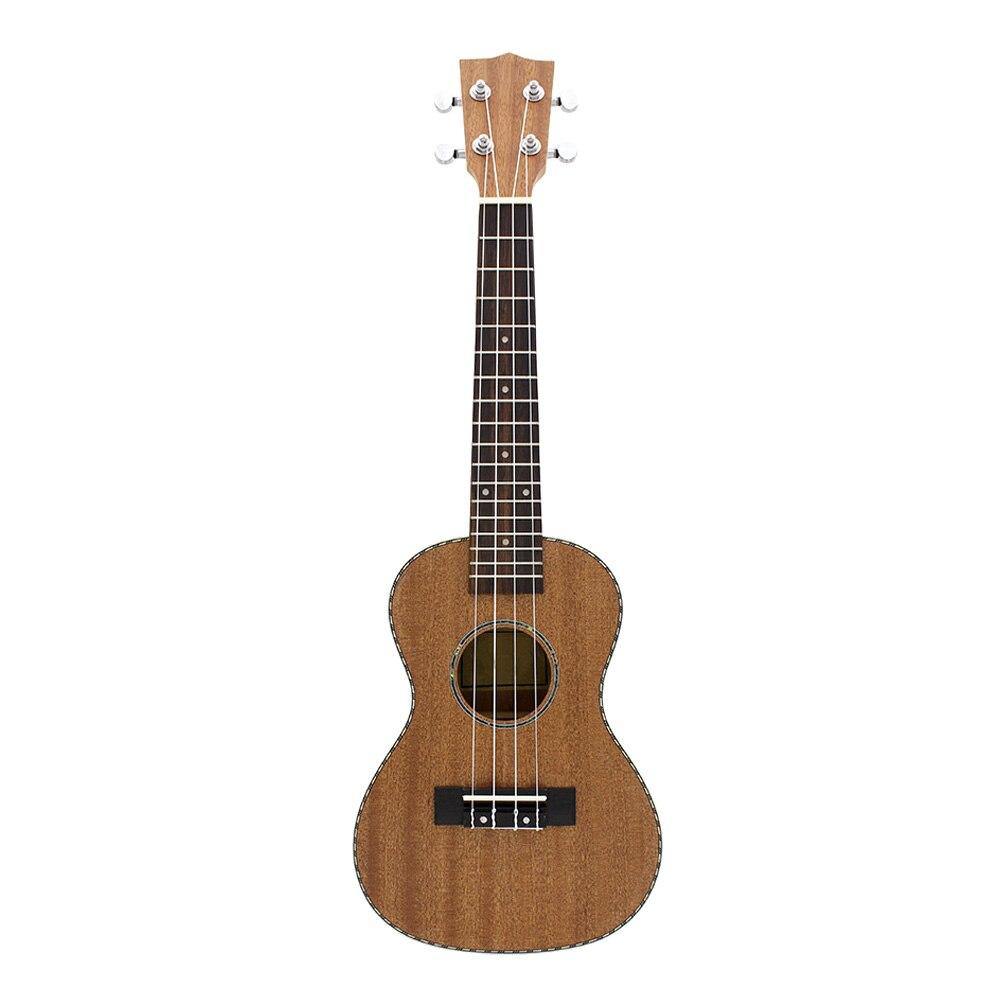 Nouveau IRIN 23 pouces Ukelele dentelle bord guitare 4 cordes guitare acoustique palissandre