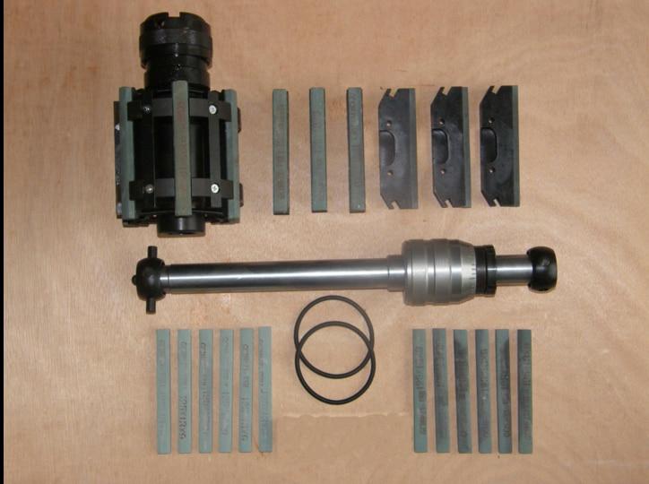 Абразивные инструменты глубокую яму Диаметр цилиндра Хорнинг инструмент хонингования голову двойной шлифовальные отточить (125 мм 160 мм)