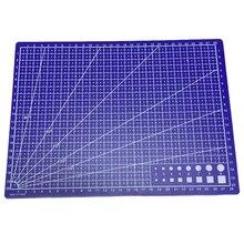 A4 сетки линии резки мат ремесло карты ткань кожа бумажная доска 30*22 см синий