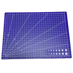 A4 линии сетки коврик для резки Craft карты ткани кожи Бумага доска 30*22 см синий