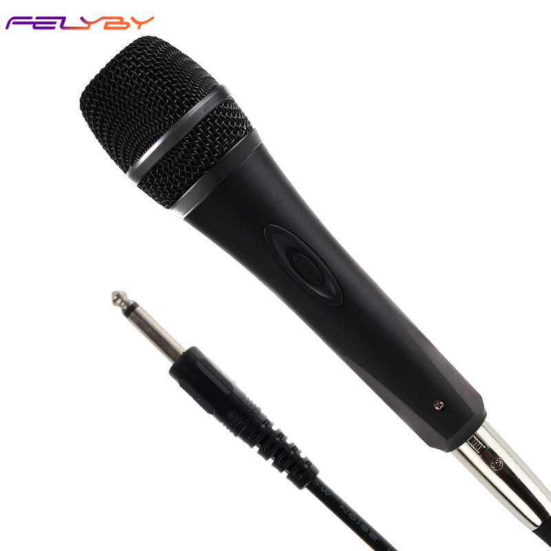 FELYBY YS228 Wired microphone karaoke singing microphone For computer voice TV speaker performance