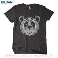 Print Tee Shirts Graphic Panda Printed T Shirt Hipster Design Urban Fashion Mens Girls Tee Top